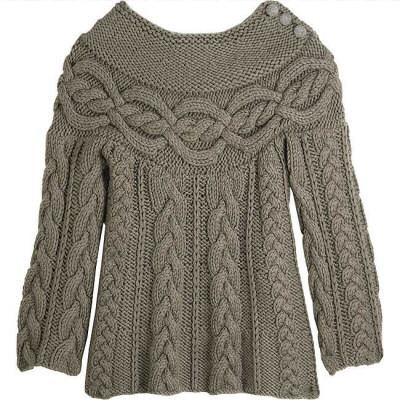 Comment tricoter un pull en laine - Apprendre a tricoter un pull ...