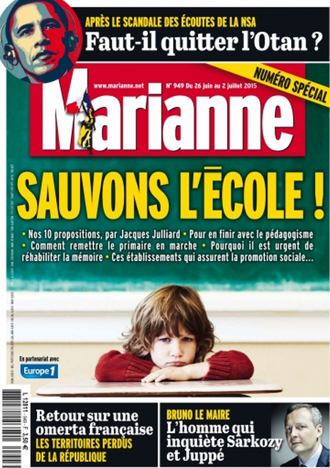 Document issu de Marianne du 4 Juillet 2015