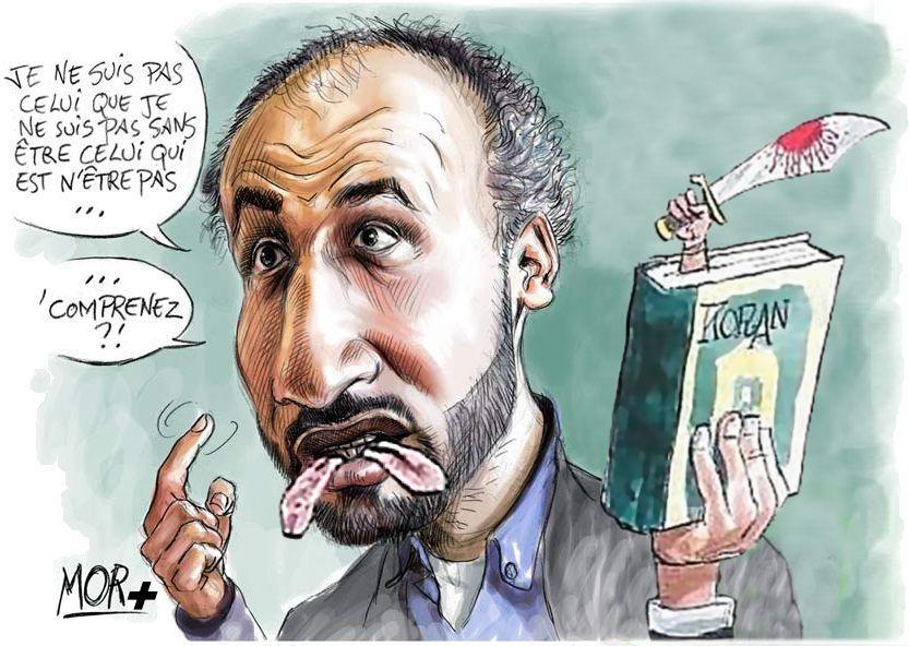 caricature_tariq_ramadan_double_langage
