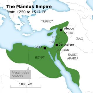 Empire Mamelouk 1250-1517