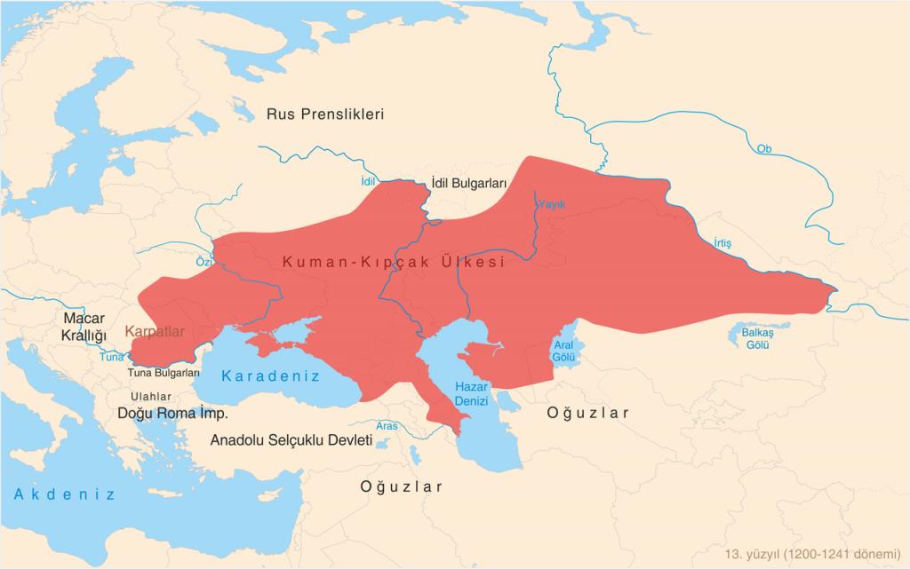 Kiptchak State_of_Cuman-Kipchak_