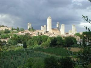 San Gimignano et ses tours