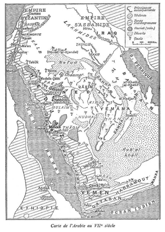 Arabie au VIIè siècle. Gaudefroy-Demombynes Mahomet