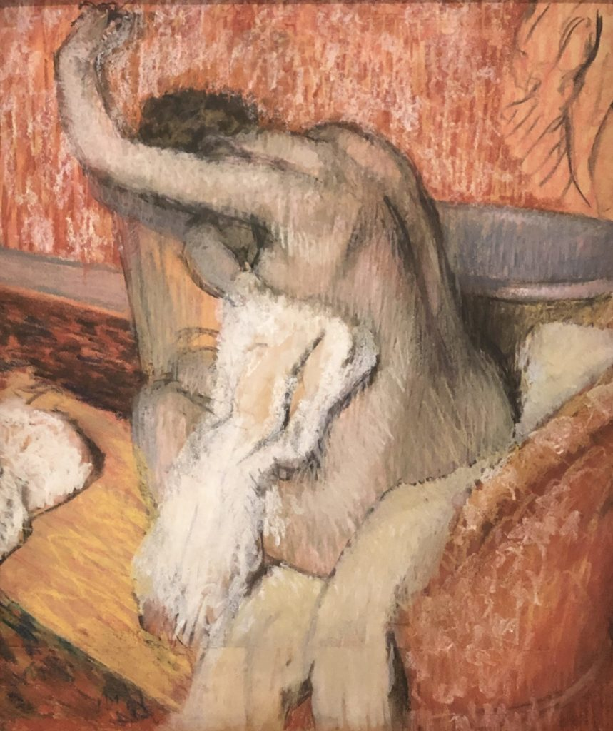 Degas, la Toilette