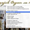 menu contextuel